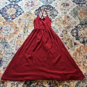 American Apparel Ballerina Midi Dress